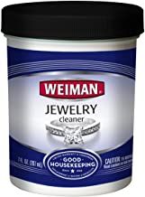 Weiman Jewelry Cleaner Liquid – Restores Shine and Brilliance to Gold, Diamond, Platinum Jewelry and Precious Stones – 7 Ounce