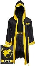 Rocky Balboa BLACK Movie italian Stallion Boxing Robe