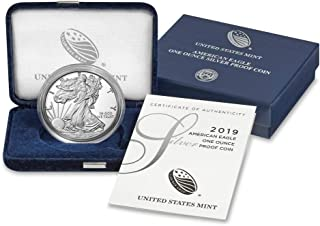 2019 S Silver American Eagle Proof $1 OGP US Mint