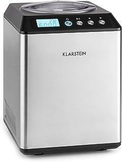 Klarstein Vanilly Sky Family - Sorbetière, Glace en 5 à 60 minutes, Récipient isotherme pour jusqu'à 2,5 l, Seulement 250 ...