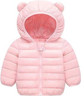 470900e19b4 BSC007 Baby Boys Girls Winter Coats Hoods Light Puffer Down Jacket Outwear