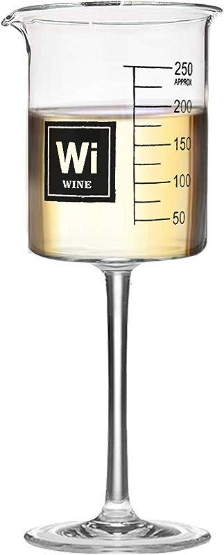 Drink Periodically Lab Beaker Wine Glass