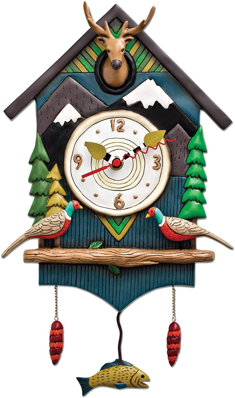 Allen Designs Mountain Time House Pendulum Clock