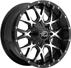 Dropstars 18x9 Machined Black 645MB Rim 6x135 & 6x139.7 +0