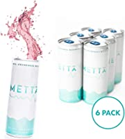 METTA Natural Awareness Beverage - Healthy Energy Drink Alternative|8.4oz can(250ml)6 Pack|Clinically Effective Dosages of Herbs|Improve Focus & Endurance|Reduce Fatigue & Stress|Free of Caffeine