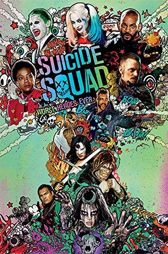 Suicide Squad - Nuke - Druck Plakat Film Poster - Größe 61x91,5 cm