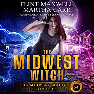 The Midwest Witch: The Revelations of Oriceran audiobook cover art
