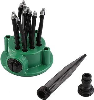 360° Automatic Garden Sprinklers 12 Watering Sprinklers Gardening Tools Irrigation Sprinklers for Watering Lawn Plants (2 ...