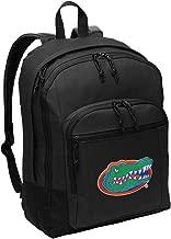 Broad Bay University of Florida Backpack Classic Style Florida Gators Backpack Laptop Sleeve