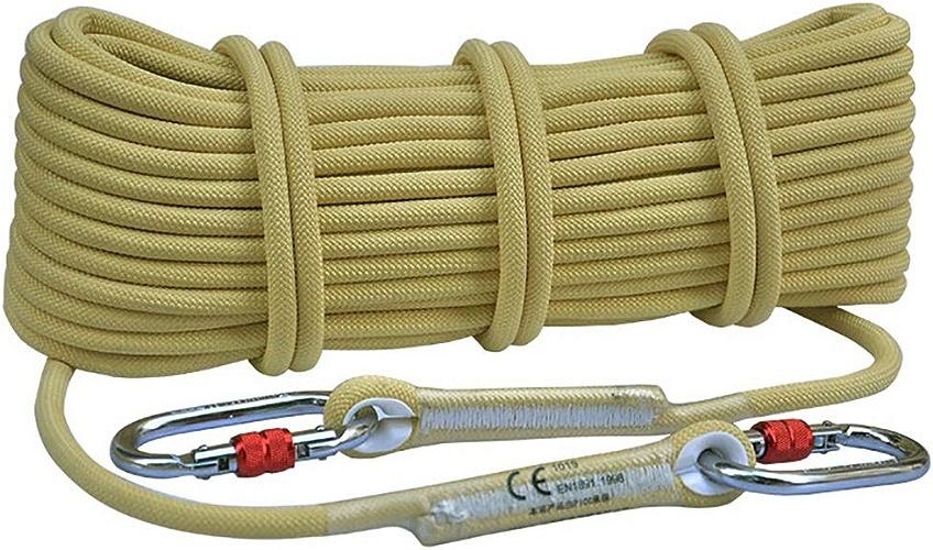 LXYFMS Corde d'échappement Corde électrostatique Corde en Kevlar Ignifuge, résistant à l'usure, Haute température, diamètre 8 10,5 mm Corde d'alpinisme (Taille   10.5mm 5m)