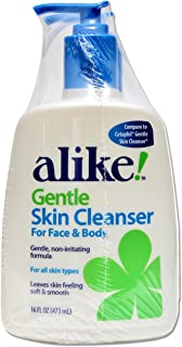 alike Daily Facial Cleanser, 16 Fluid Ounce (Pack of 2)