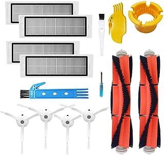 Kit de accesorios para XIAOMI MI Robot piezas de repuesto al vacío 2 piezas Principal 2 piezas cepillo cepillo lateral 2 piezas Filtro HEPA