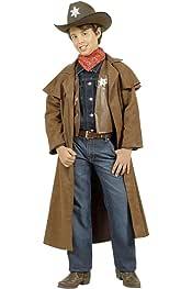 Disfraz Infantil de Sheriff, de Vaquero Cowboy, en El Salvaje ...