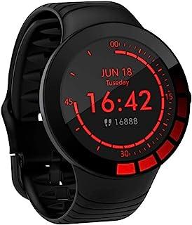 Zeerkeer Smartwatch Pulsera Actividad Inteligente Impermeable Inteligente Reloj Deportivo Pantalla Táctil Completa con Pulsómetro Cronómetro Pulsera Deporte para Hombres Mujeres