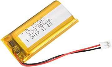 uxcell Power Supply DC 3.7V 800mAh 752248 Li-ion Rechargeable Lithium Polymer Li-Po Battery