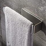 Zunto toallero/anillo de toalla autoadhesivo toalleros barra baño acero inoxidable