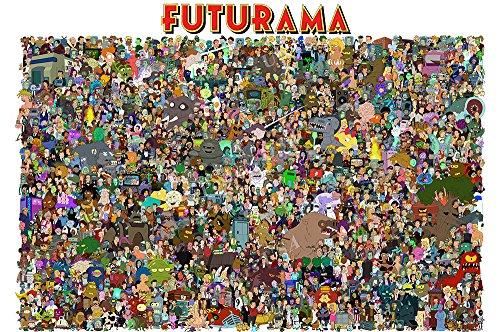 "Posters USA - Futurama TV Series Show Poster GLOSSY FINISH - TVS107 (24"" x 36"" (61cm x 91.5cm))"