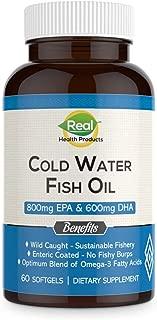 Omega 3 Fish Oil Supplement - Premium Icelandic EPA & DHA Fatty Acids – Promotes Healthy Joints, Brain & Skin – Non-GMO, Pharmaceutical Grade - 2000mg