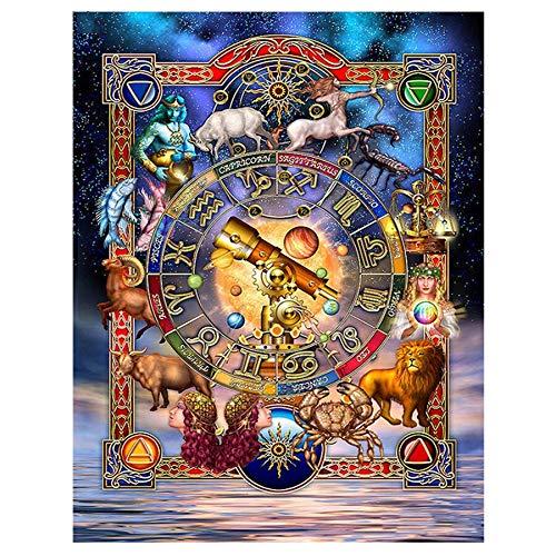 Puzzle 1000 piezas Regalo religioso del cuadro del arte del templo puzzle 1000 piezas animales educativo divertido juego familiar para niños adultos Rompecabezas de juguete de50x75cm(20x30inch)
