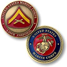 U.S. Marines Lance Corporal Challenge Coin