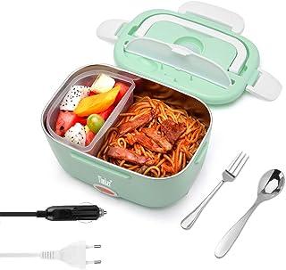 Timker Gamelle Chauffante 12v 24v 220v Lunch Box Chauffante Electrique 3 in 1 Boite Repas Chauffante pour Accueil Voiture ...