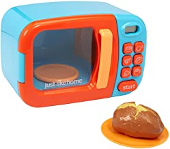 Just Like Home Microwave - Blue w/ Play Food