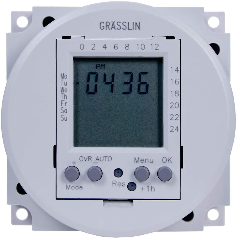 Grasslin by Award Intermatic FM1D20-24U 24VAC 2021 spring and summer new Electro 7-Day DC 24-Hour