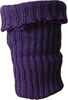 Gesundheitsstrumpf, 2 pares de niños legwarmer Sirven con fina lana Lila