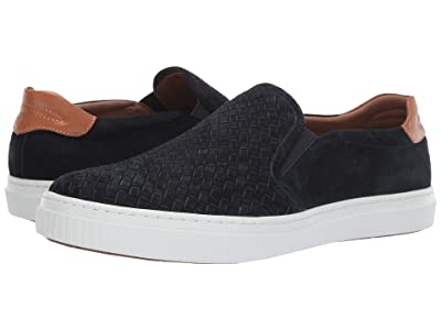 J&M EST. 1850 Toliver Slip-On (Navy) Men