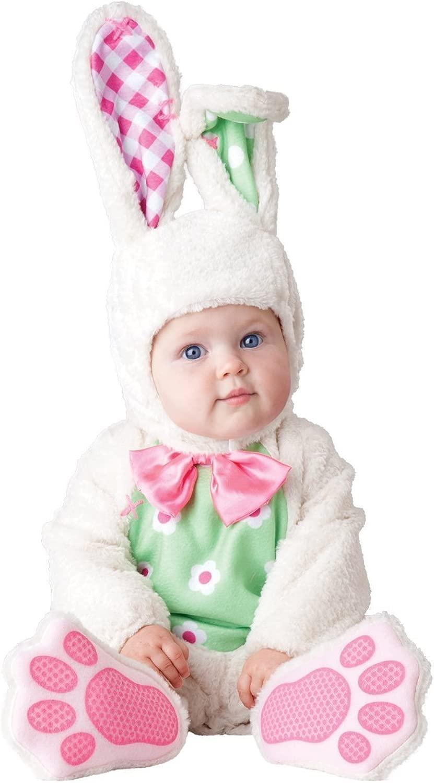 Deluxe per bambine, Coloreeee  bianco, coniglietto pasquale In Character-Costume di Htuttioween
