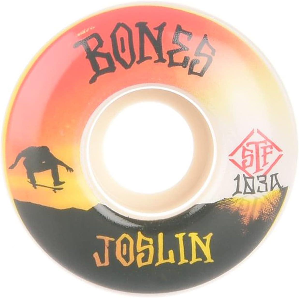 Bones Skateboard Wheels 54mm Joslin 55% OFF Standard 103A STF V1 Sunset Award