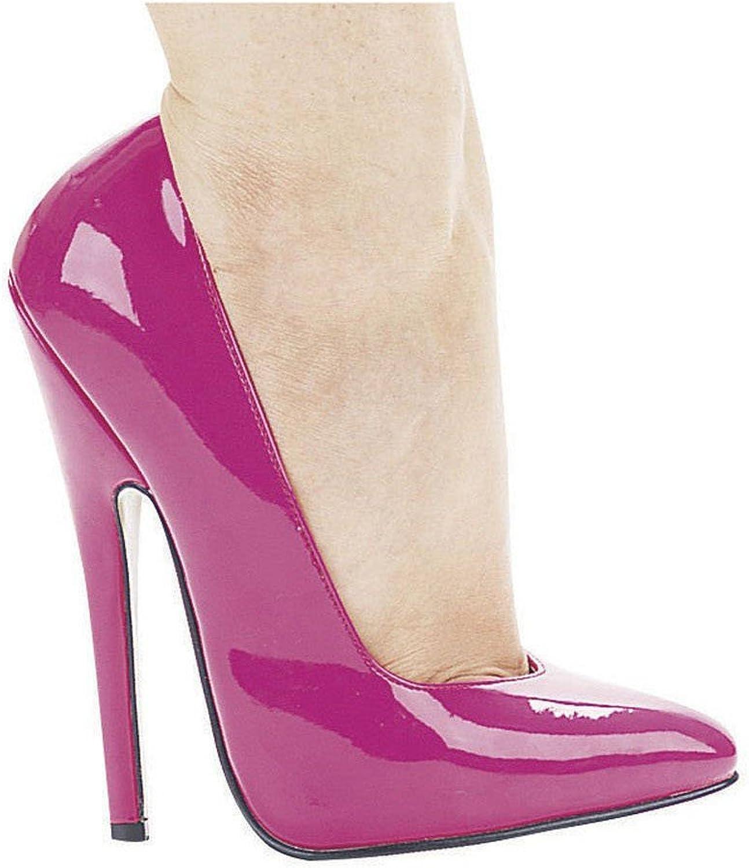 Ellie shoes Women's 6 Inch Heel Fetish Pump (Fuchsia;9)