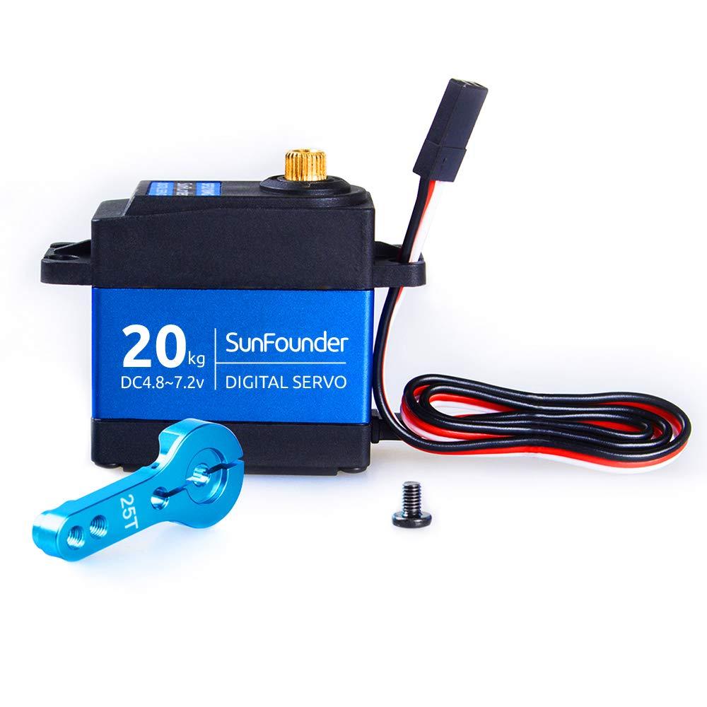 SunFounder Waterproof SF3218MG Digital Aluminium