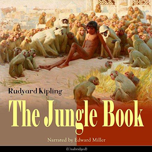 The Jungle Book audiobook cover art