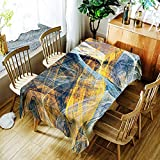 XXDD Mantel de Mesa de Centro Rectangular a Prueba de Agua con impresión Digital Creativa, Mantel nórdico Retro para el hogar A6 140x180cm