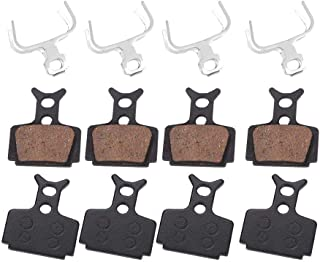Alomejor 4pairs Bicycle Disc Brake Pads for Formula R1, R1R, RO, RX, T1 and for The Mega, The One, The One FR, CR3, C1