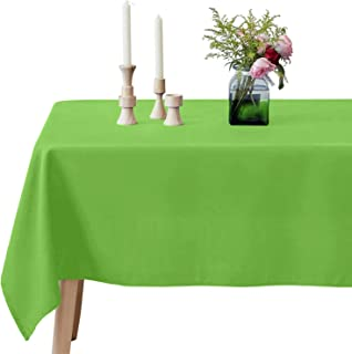 lime green tablecloth rectangle
