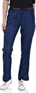 Marilyn Monroe Women's Stretch Flare Pants, 4-Pockets, Signature Waist with Drawstring, Soft Medical Scrub Pant