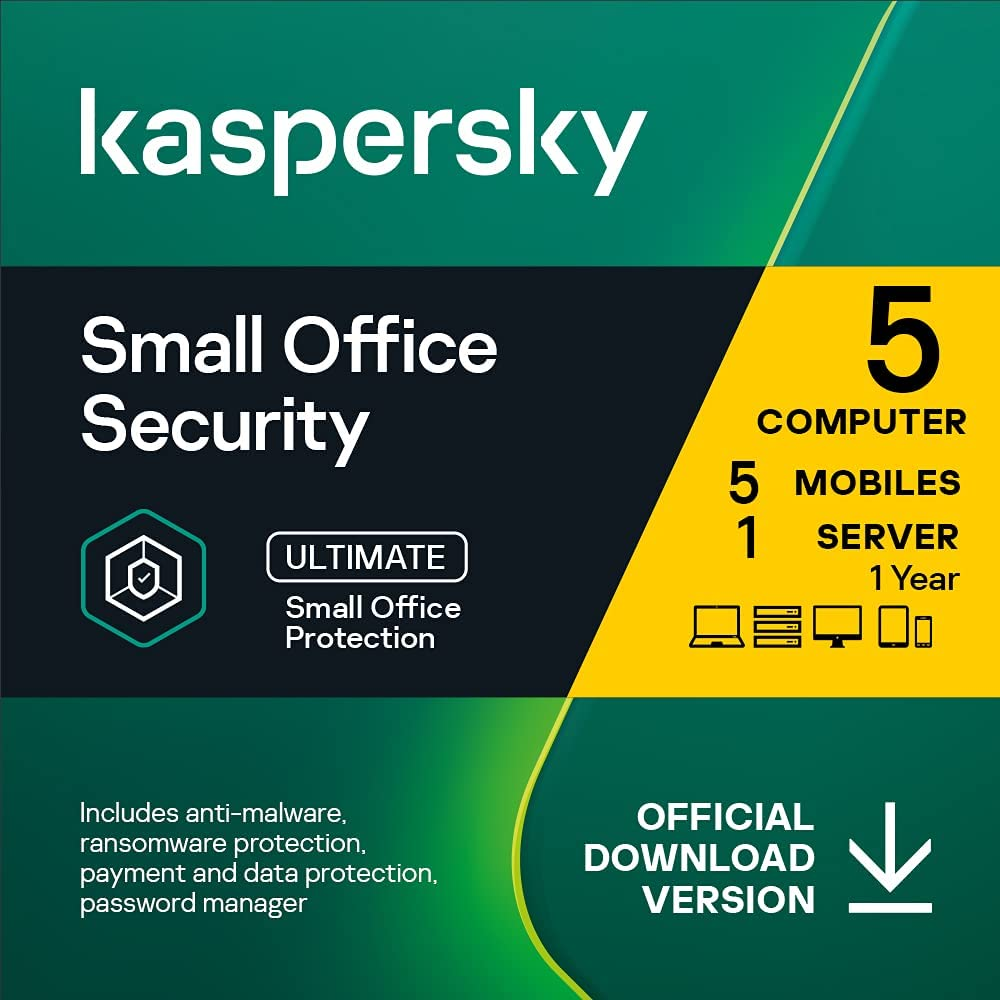 Max 47% OFF Kaspersky Small Office Security Max 84% OFF 8 Standard 5 Mobile Devices