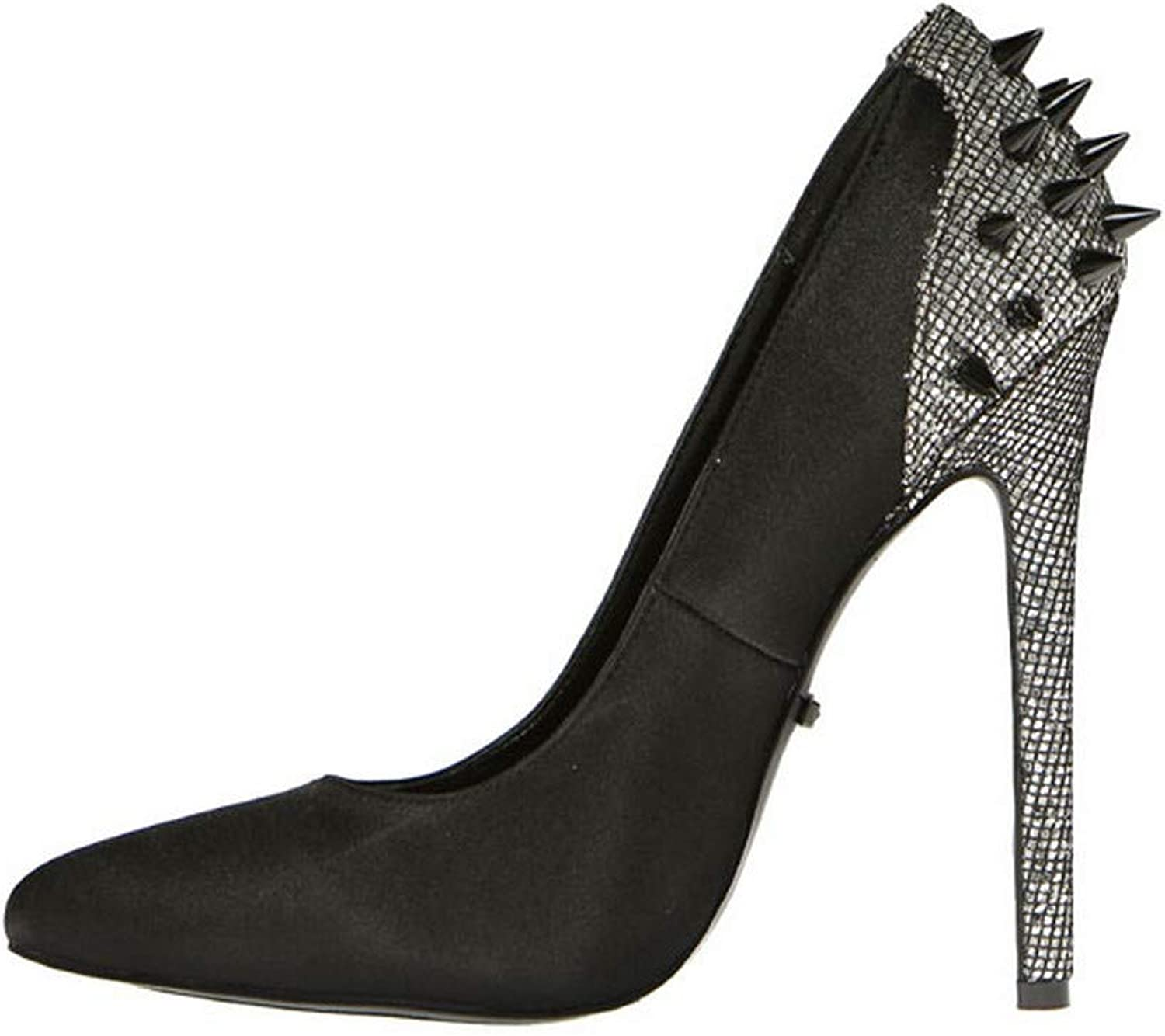 Pointed Toe Special price We OFFer at cheap prices for a limited time Rear Spike Sexy - 5.25