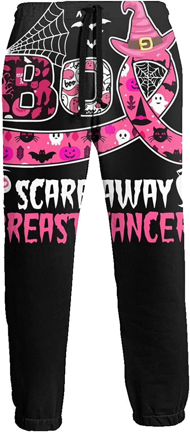 Active Sweats Jogger Pants Scare Away Breast Cancer Running Joggers Casual Sweatpants for Men Women