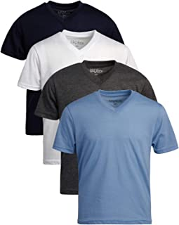 Athletic Performance Short Sleeve Tee 2 Pack Galaxy by Harvic Boys T-Shirts
