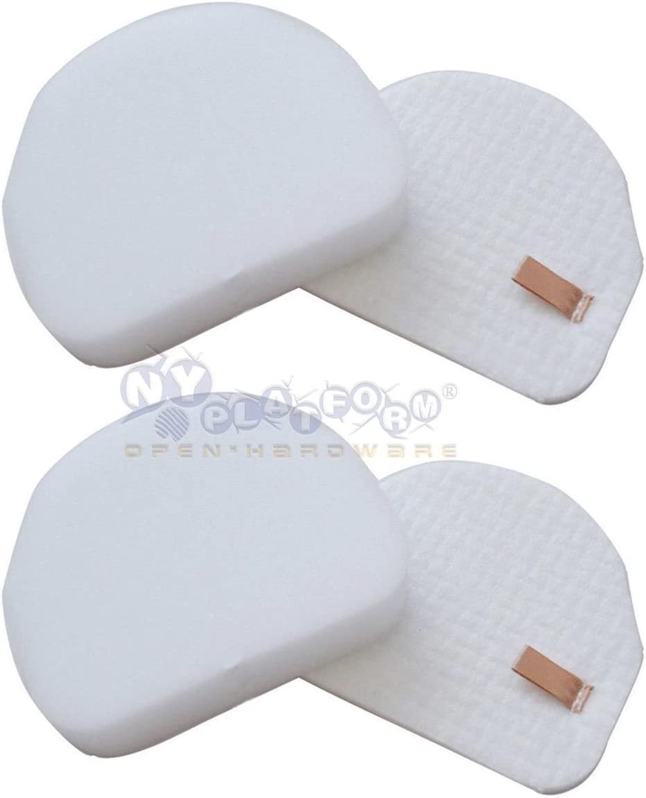 Eztronics Corp Max 70% OFF Cash special price 2 Sets NV450 Filter XFF450 for Washable Shark Foa
