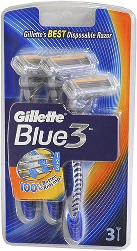Gillette Blue3 Disposable Men's Razors x3