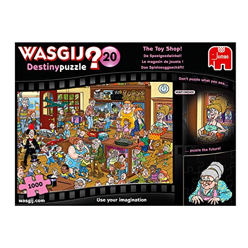 Jumbo Spiele GmbH JUM19171 The Toy Shop 1000 Piece Jigsaw Puzzle Wasgij Destiny 20