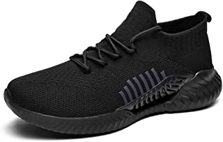 Slow Man Men's Slip-Ons Sock Walking Shoes - Mesh Breathable Slip On Athletic Casual Fashion Shoes Sneakers Loafers Like Wear Socks