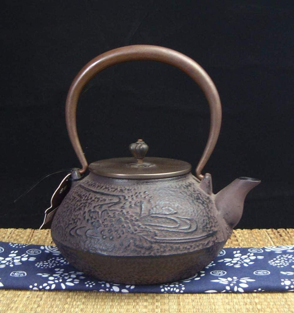 ZKS-KS Tea Sets Cast Iron Set OFFicial store Free Shipping Cheap Bargain Gift Pot Uncoated Ca