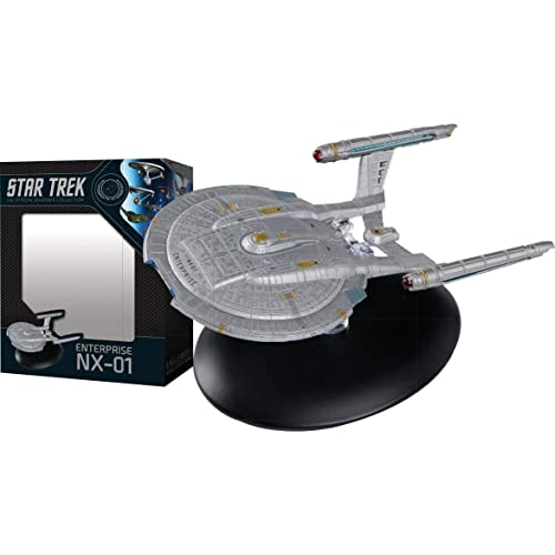revista Star Trek U.S.S Enterprise ncc-1701e 28-cm colección Eaglemoss Engl