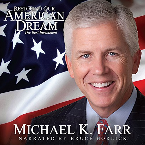 Restoring Our American Dream audiobook cover art