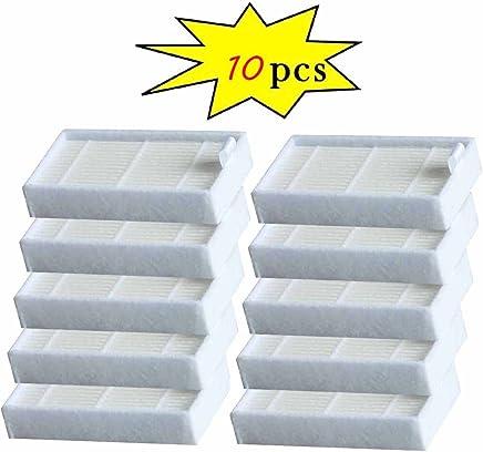 新款 10 件过滤器适用于 ILIFE V3s, V5, V5s V5s pro 机器人真空吸尘器